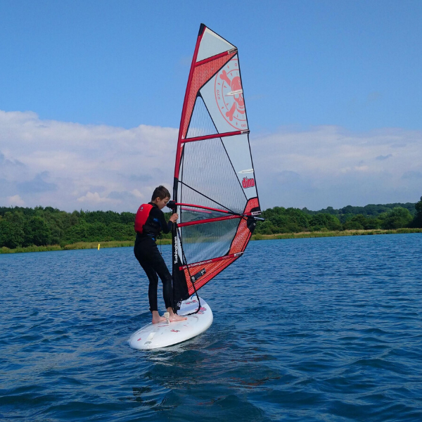 junior windsurfer