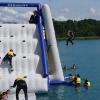 aqua park high dive from climbing wall