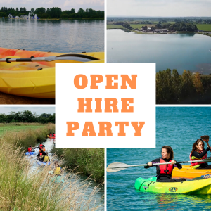 Open Hire Kayaking